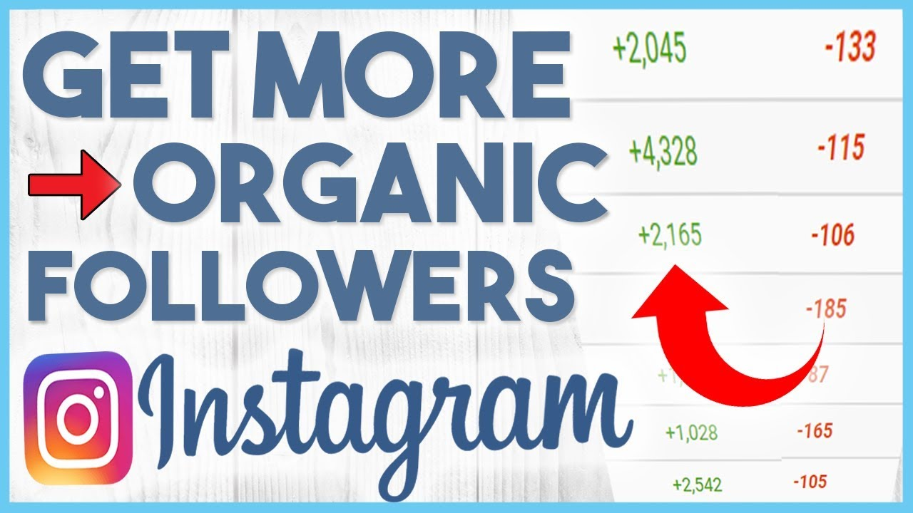 Buy organic instagram followers
